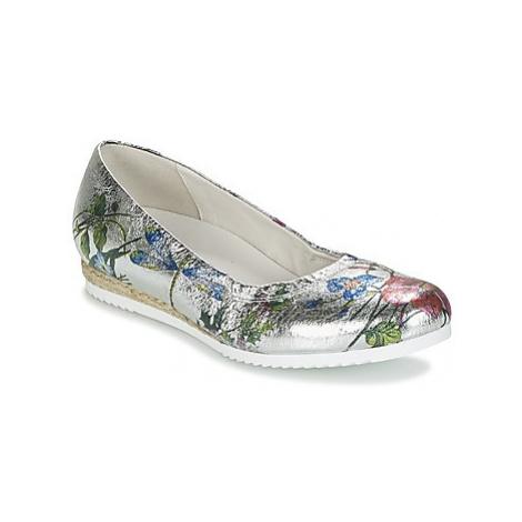 Gabor POULITA women's Shoes (Pumps / Ballerinas) in Silver