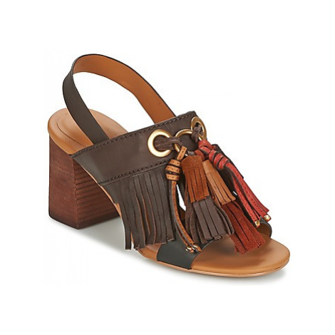 See by Chloé SB30102 women's Sandals in Brown