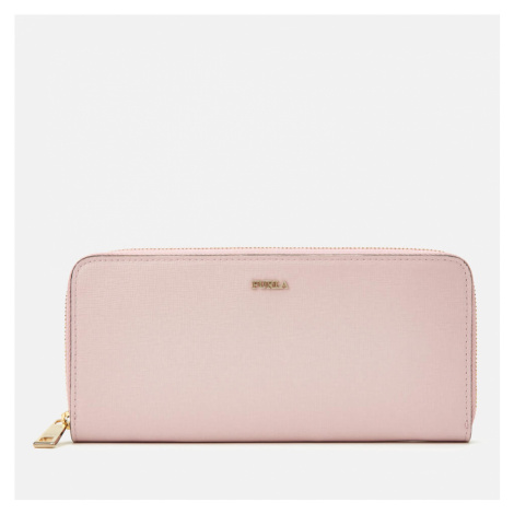 Furla Women's Babylon XL Zip Around Slim Wallet - Pink
