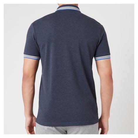 BOSS Athleisure Men's Paddy Pique Polo Shirt - Medium Blue Hugo Boss