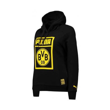 BVB Fan Hoodie - Black - Womens Puma
