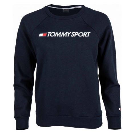 Tommy Hilfiger CREW SWEATER LOGO dark blue - Women's sweatshirt