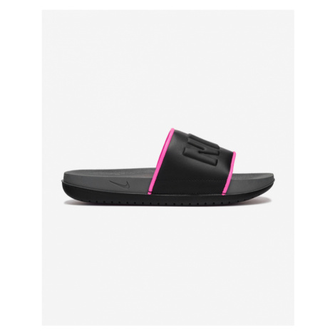 Nike Offcourt Icon Clash Slippers Black Grey