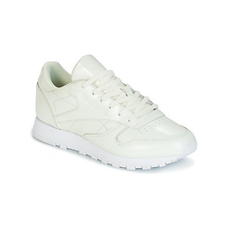 Reebok Classic CLASSIC LEATHER PATENT women's Shoes (Trainers) in White