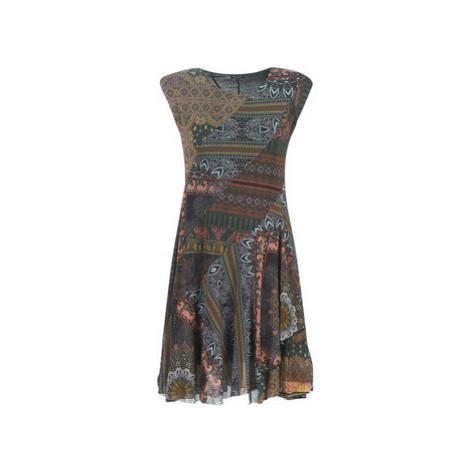 Desigual GAELLE women's Dress in Multicolour