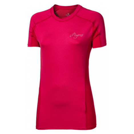 Progress CONTACT LADY pink - Women's sports T-shirt