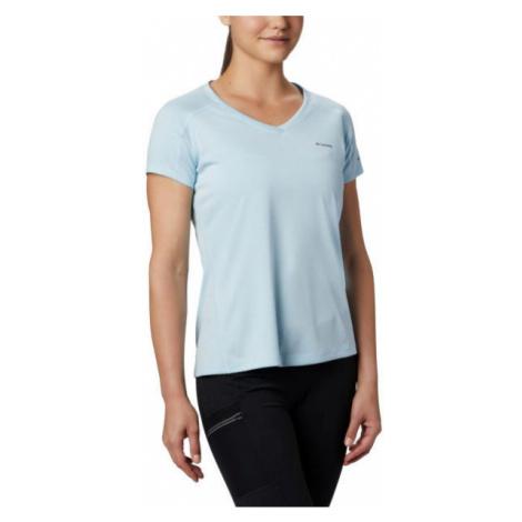Columbia ZERO RULES SHORT SLEEVE SHIRT blue - Women's T-shirt