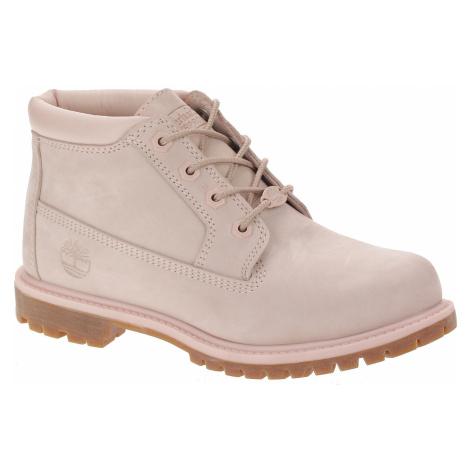 shoes Timberland Nellie Chukka Double Waterproof - A1S7S/Light Pink Nubuck - women´s