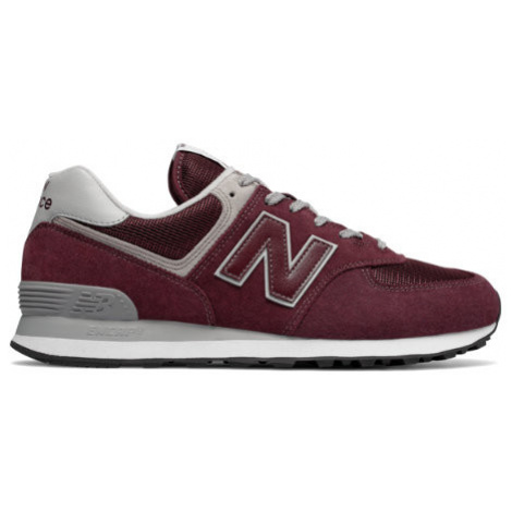 New Balance 574 Core Shoes - Burgundy