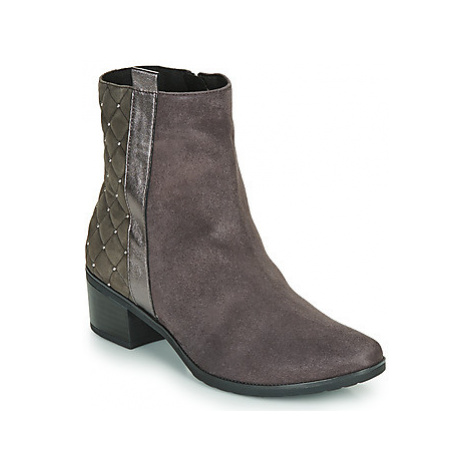 Caprice LINITANE women's Mid Boots in Grey