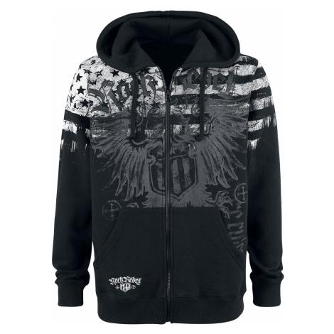 Rock Rebel by EMP - Mask Of Sanity - Hooded zip - black