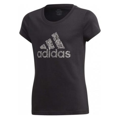adidas YG BADGE OF SPORT TEE - Girls' T-shirt