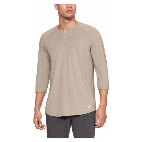 Under Armour Athlete Recovery Sleeping T-shirt Brown