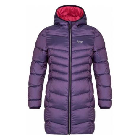 Loap IDUZIE purple - Girls' winter coat