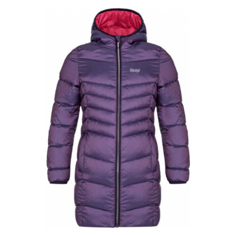 Loap IDUZIE purple - Girls' winter coat