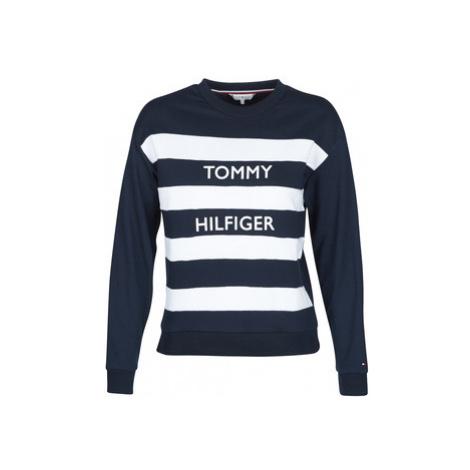 Tommy Hilfiger KENDRA C-NK SWEAT women's Sweatshirt in Blue