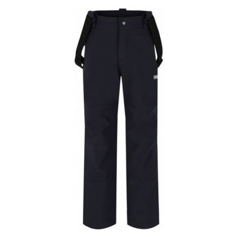 Loap LEWRY black - Kids' softshell trousers