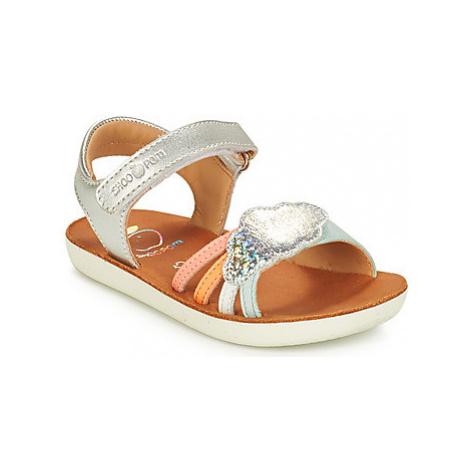 Shoo Pom GOA MULTI LAMINATO girls's Children's Sandals in Silver