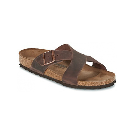 Birkenstock TUNIS men's Mules / Casual Shoes in Brown