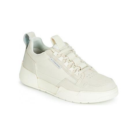 G-Star Raw RACKAM YARD II LOW WMN women's Shoes (Trainers) in Beige