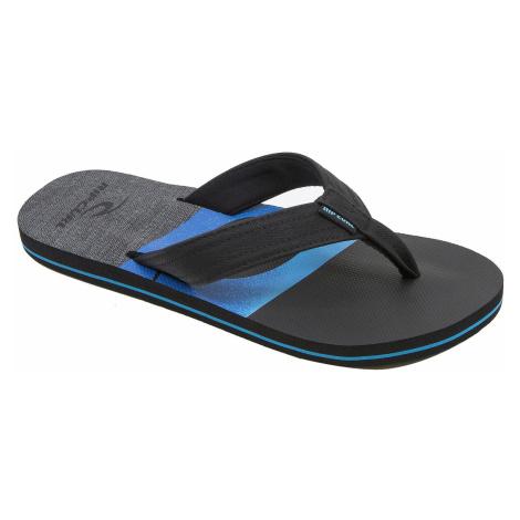 flip flops Rip Curl Ripper - Black/Blue - men´s