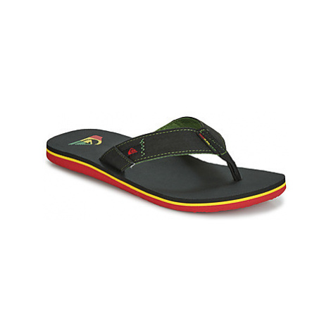 Quiksilver MOLOKAI ABYSS M SNDL XGKG men's Flip flops / Sandals (Shoes) in Black
