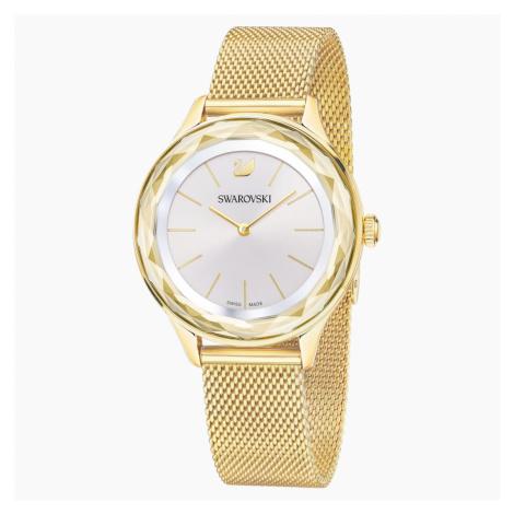 Octea Nova Watch, Milanese bracelet, Gold-tone PVD Swarovski