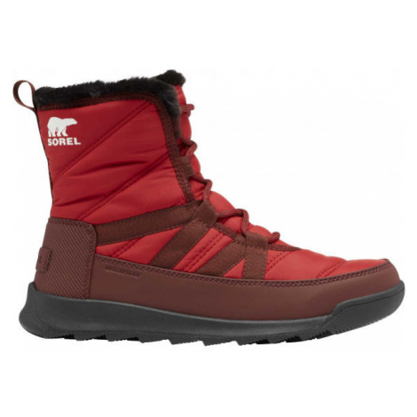 Sorel WHITNEY II SHORT LACE FU red - Women's winter shoes