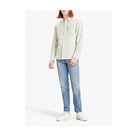 Levi's Sunset One Pocket Standard Fit Striped Shirt, Hauyne Tofu Levi´s