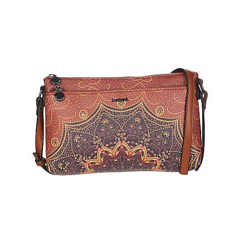 Desigual TEKILA SUNRISE DURBAN women's Shoulder Bag in Brown