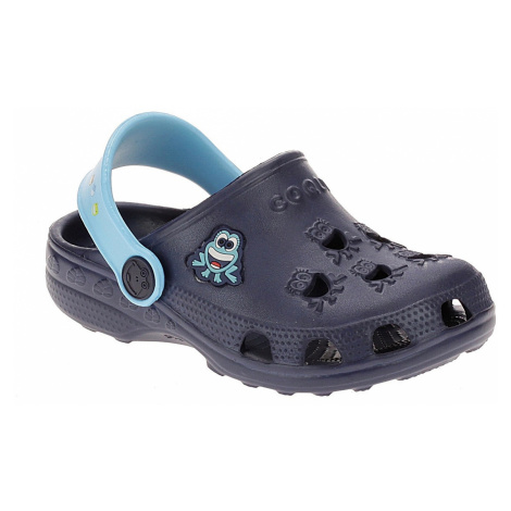 shoes Coqui 8701/Little Frog - Navy/Blue - kid´s