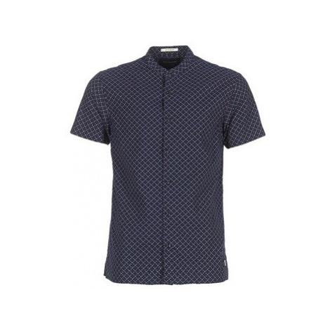 Scotch Soda MISKOU men's Short sleeved Shirt in Blue Scotch & Soda