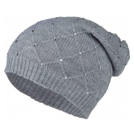 Willard ADELIANA grey - Women's knitted beanie