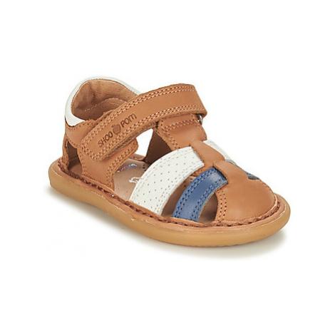 Shoo Pom CRESPIN TONTON BUENO boys's Children's Sandals in Brown