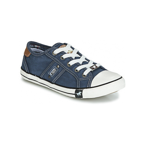 Mustang 5803305-841 boys's Children's Shoes (Trainers) in Blue