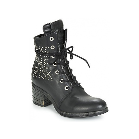 Replay KEW women's Low Ankle Boots in Black