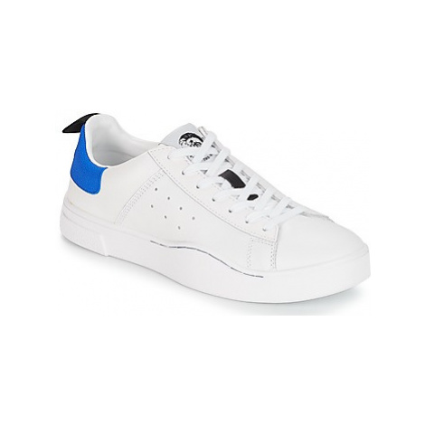 Diesel S-CLEVER LOW men's Shoes (Trainers) in White