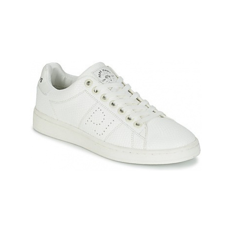 Pepe jeans NEW CLUB MONOCROME women's Shoes (Trainers) in White