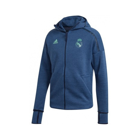 Real Madrid ZNE 3.0 Anthem Jacket - Green Adidas