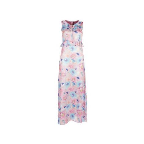 Smash ISABELA women's Long Dress in Pink