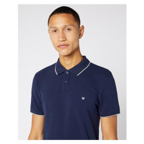 Wrangler Polo Shirt Blue