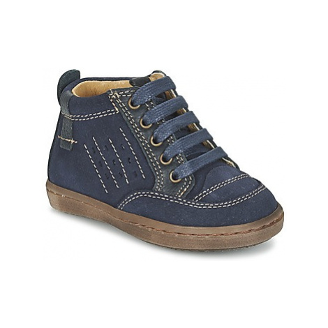 Citrouille et Compagnie FIMOULA boys's Children's Mid Boots in Blue
