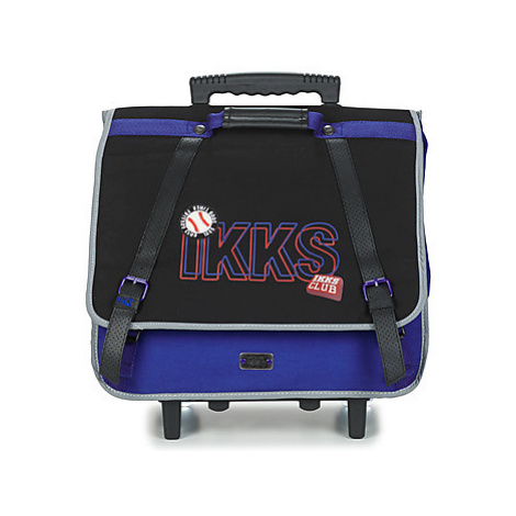 Ikks STRANGER COLLEGE TROLLEY CARTABLE 41 CM boys's Briefcase in Black