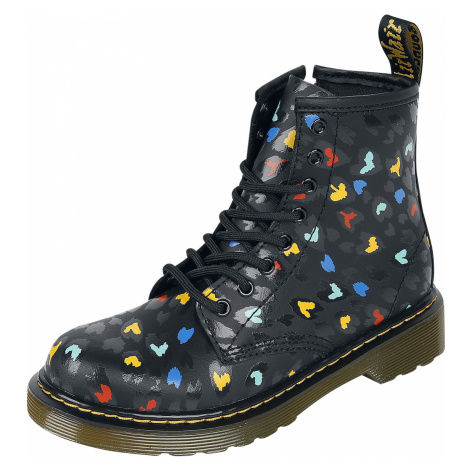 Dr. Martens - 1460 Youth Hydro Wild Hearts - Children's shoes - black Dr Martens