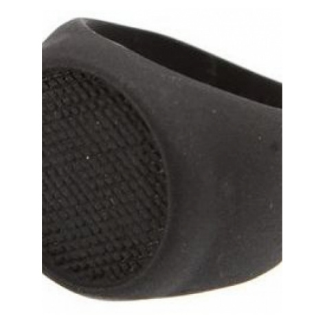 Icon Brand Jewellery Grip Step Ring Size Large JEWEL P1167-R-BLK-LGE