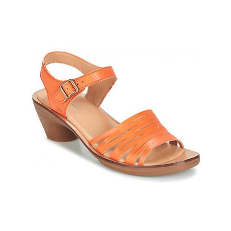 El Naturalista AQUA women's Sandals in Orange