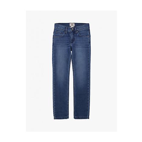 Timberland Boys' Fleece Effect Denim Slim Fit Jeans, Double Stone
