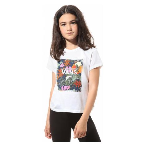 T-Shirt Vans Multi Tropic - White - girl´s
