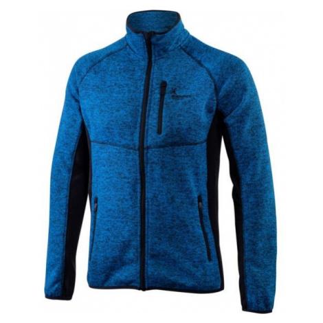 Klimatex KADRAT blue - Men's outdoor sweater