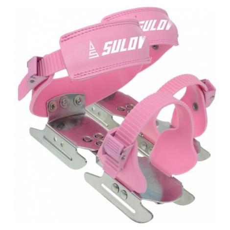 Sulov KACENKY pink - Children's ice skates